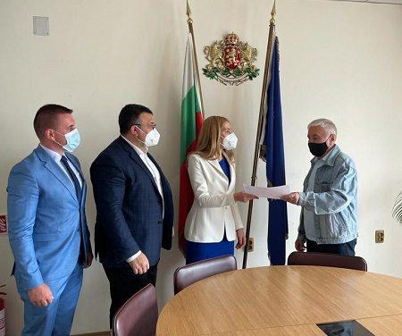 ГЕРБ – СДС София област регистрира листата с кандидати за народни представители