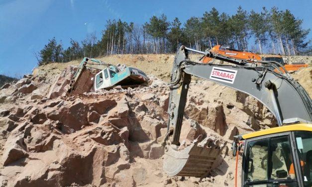"""Спират движението между Калотина и Драгоман днес за 2 часа заради строежа на магистрала """"Европа"""""""