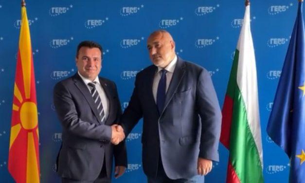 Борисов разговаря със Зоран Заев: Нищо няма да излезе от срещата ви с Радев