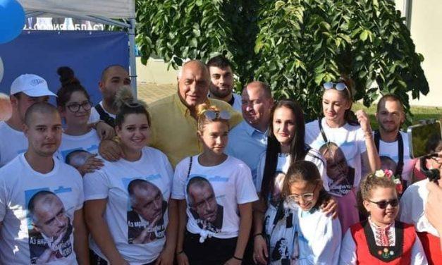 Бойко Борисов в Костенец : Вижте колко  се направи от Йордан Ангелов за последните години