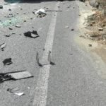 Движението по пътя София – Своге край Гара Бов – двупосочно в една лента заради катастрофа