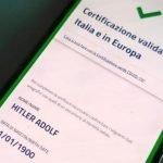 """Хакери """"издадоха"""" зелен сертификат на Хитлер"""